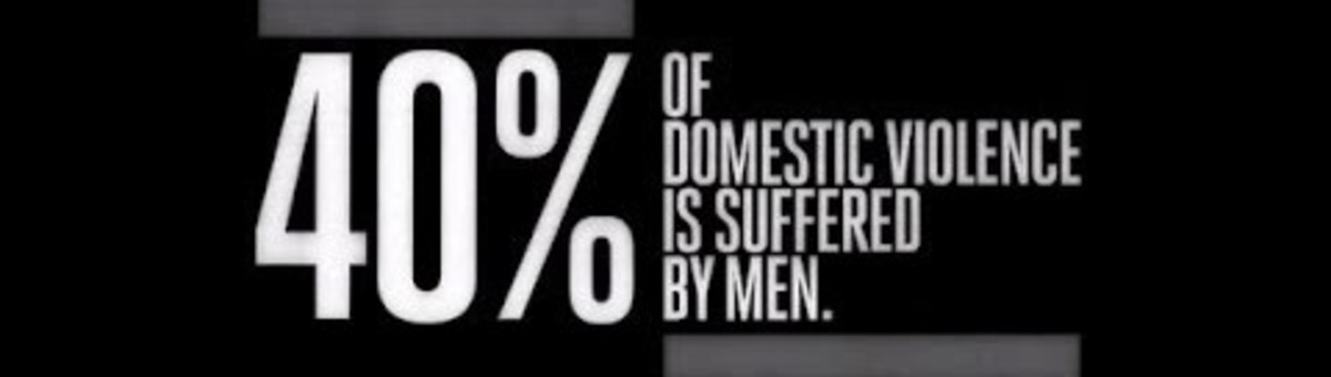Men Suffer 40% of Domestic Violence