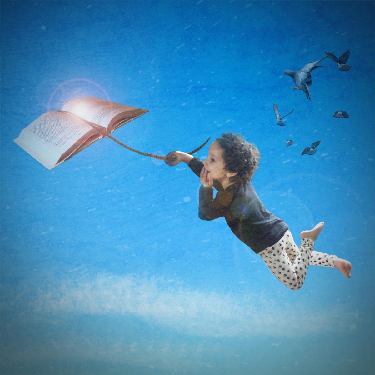 Let a book take you away.