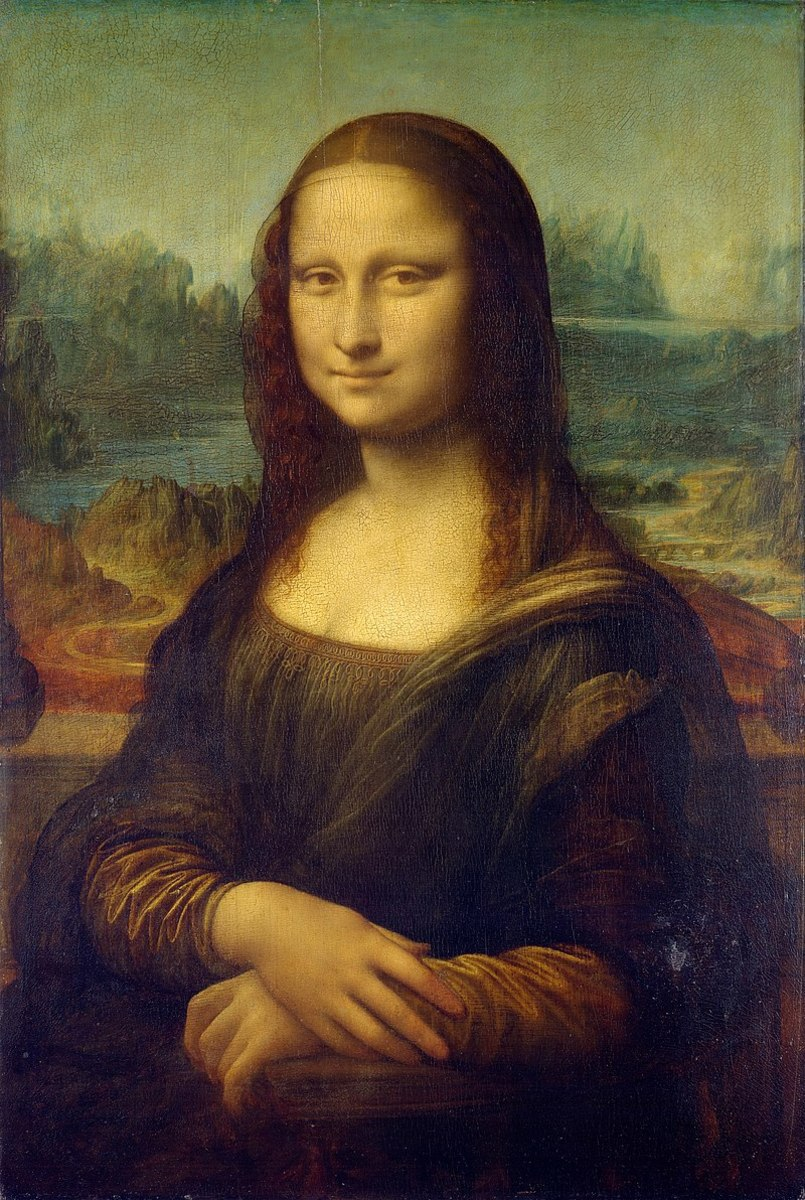 Mona Lisa or La Gioconda (1503–1505/07), Louvre, Paris