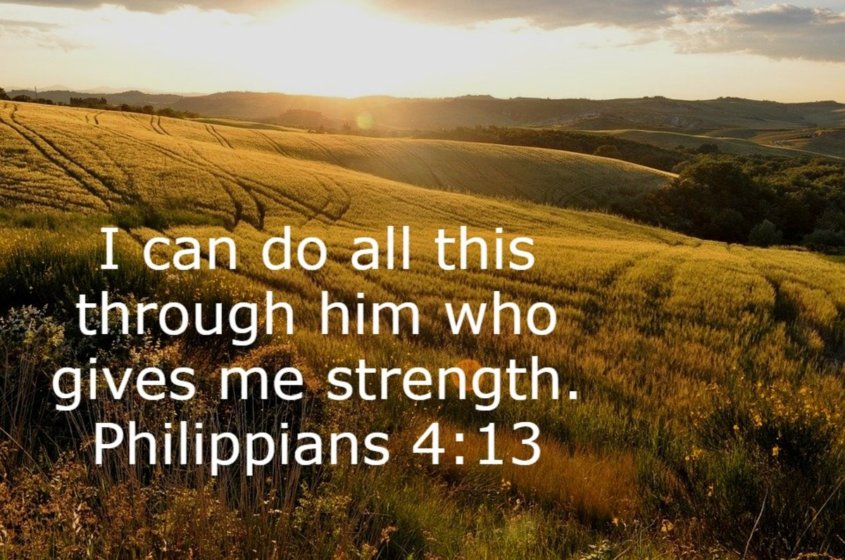 Christ gives us strength