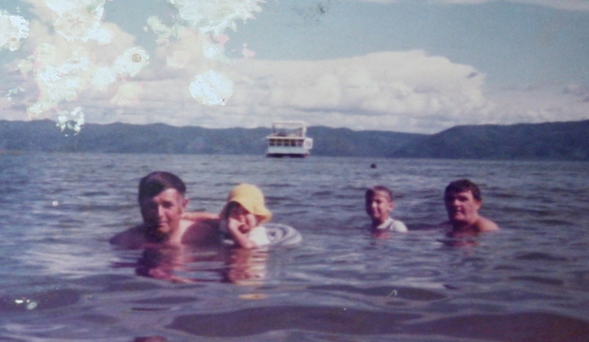 Swimming in Lake Kariba was restricted to the middle of the lake or on the shores of one of the lake's islands, due to the threat of crocodiles and Bilharzia