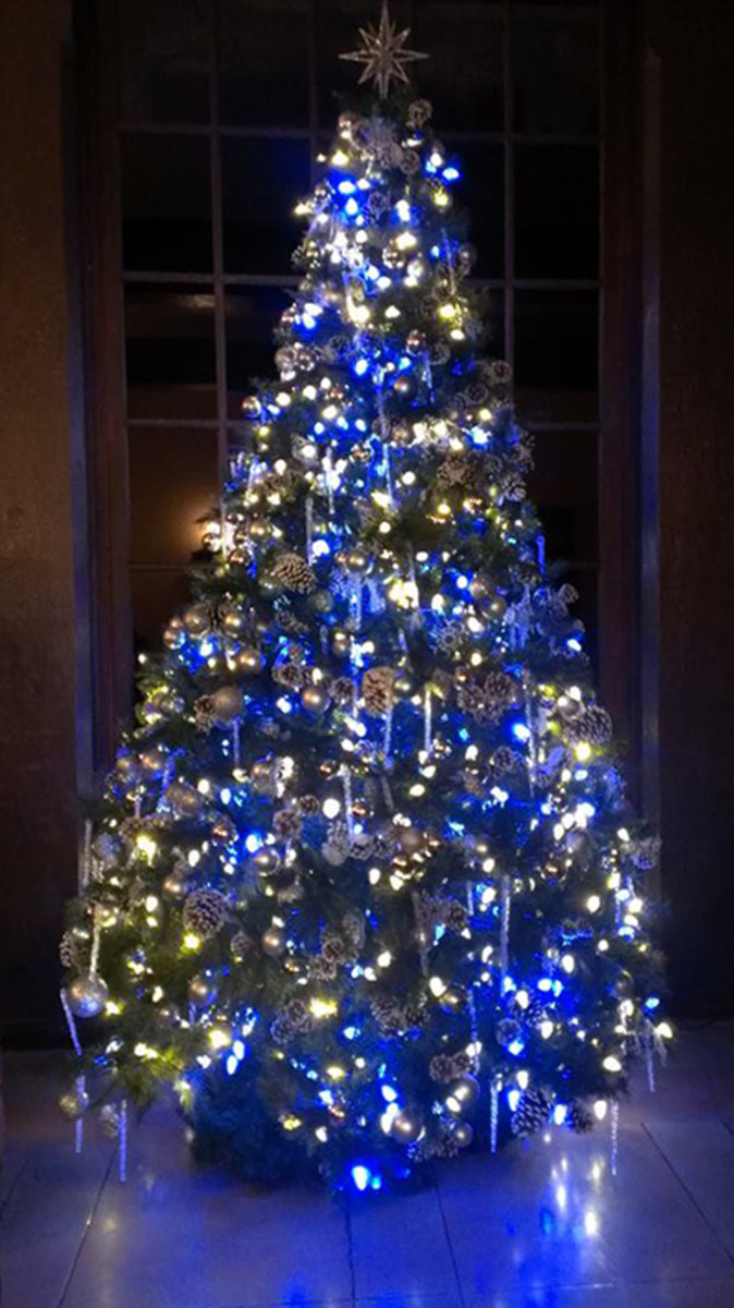 It's a blue Christmas