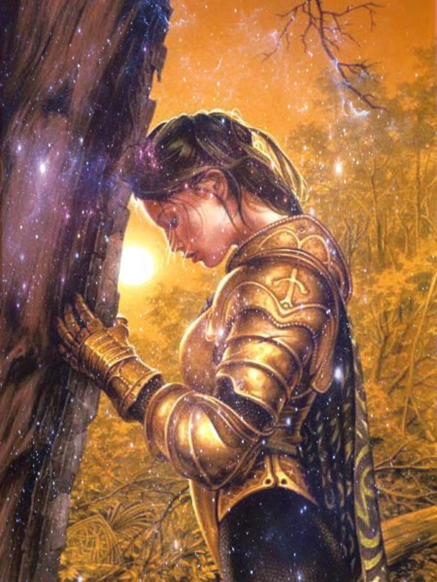 Princess Warrior of Christ!