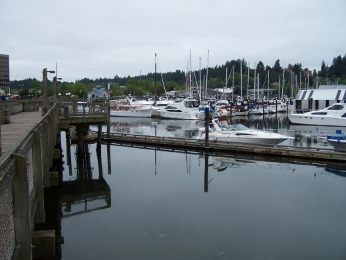 Harvest Bay Marina (fictional name)