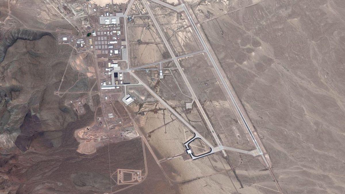 A birds eye view of Area 51