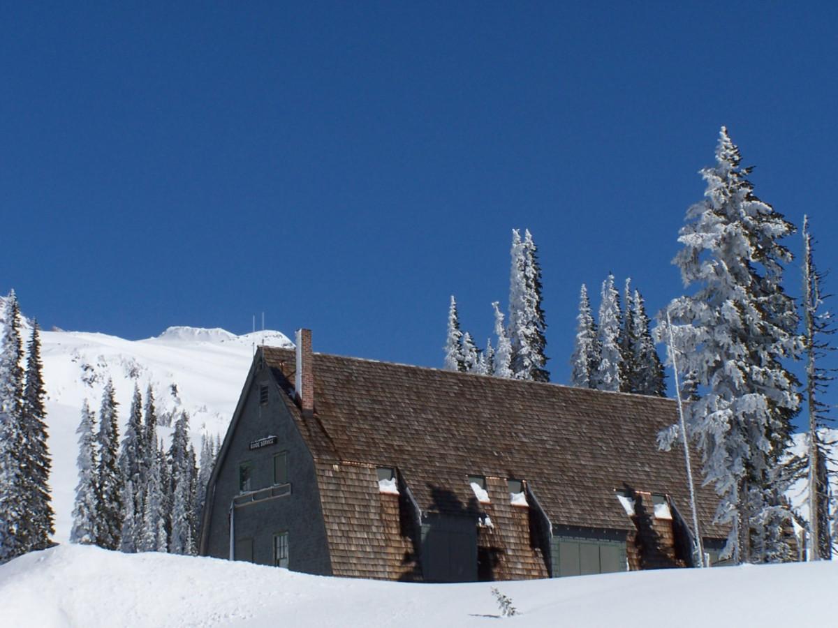 A barn-esq building.