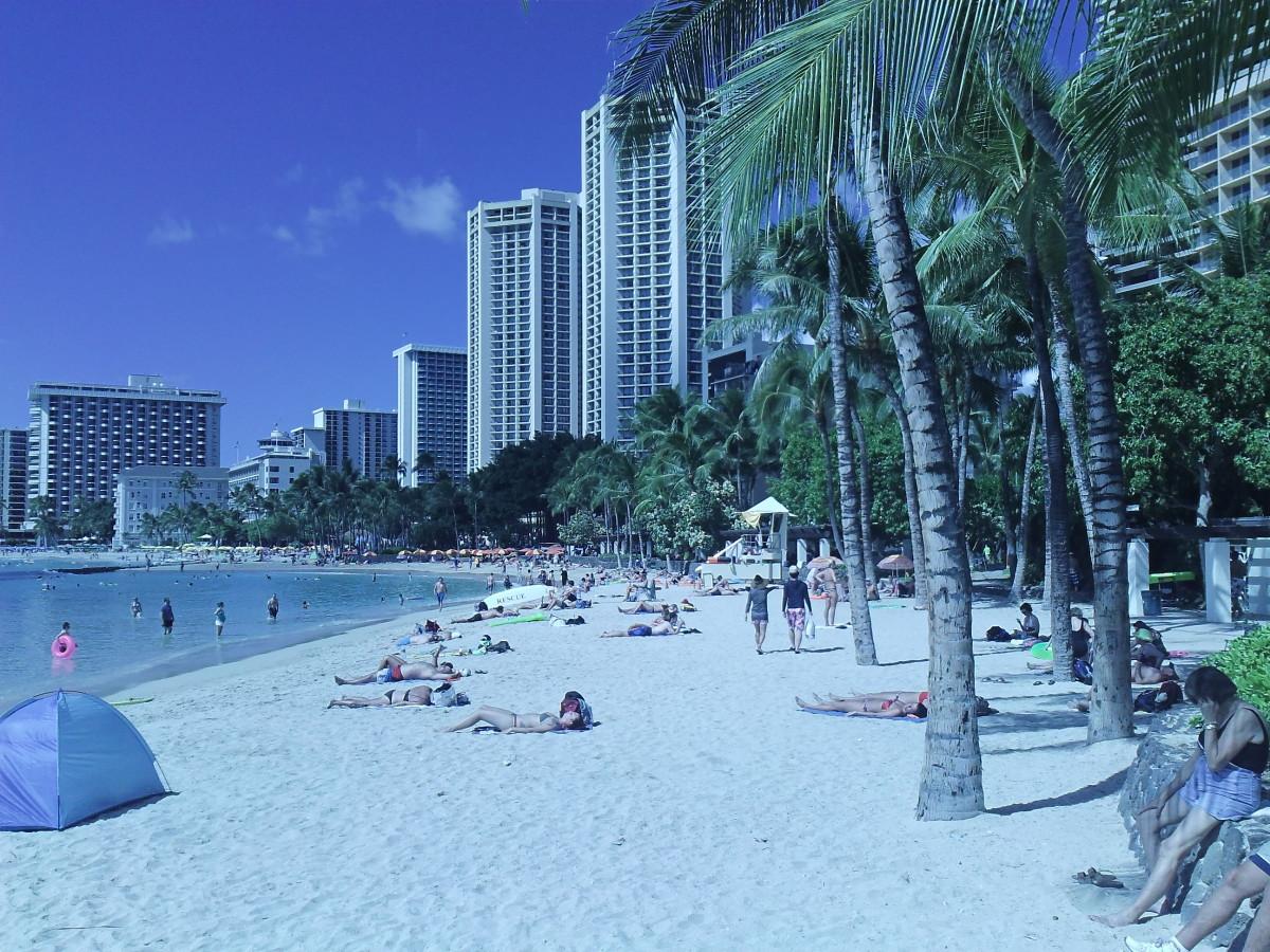 Waikiki Beach, Hawaii