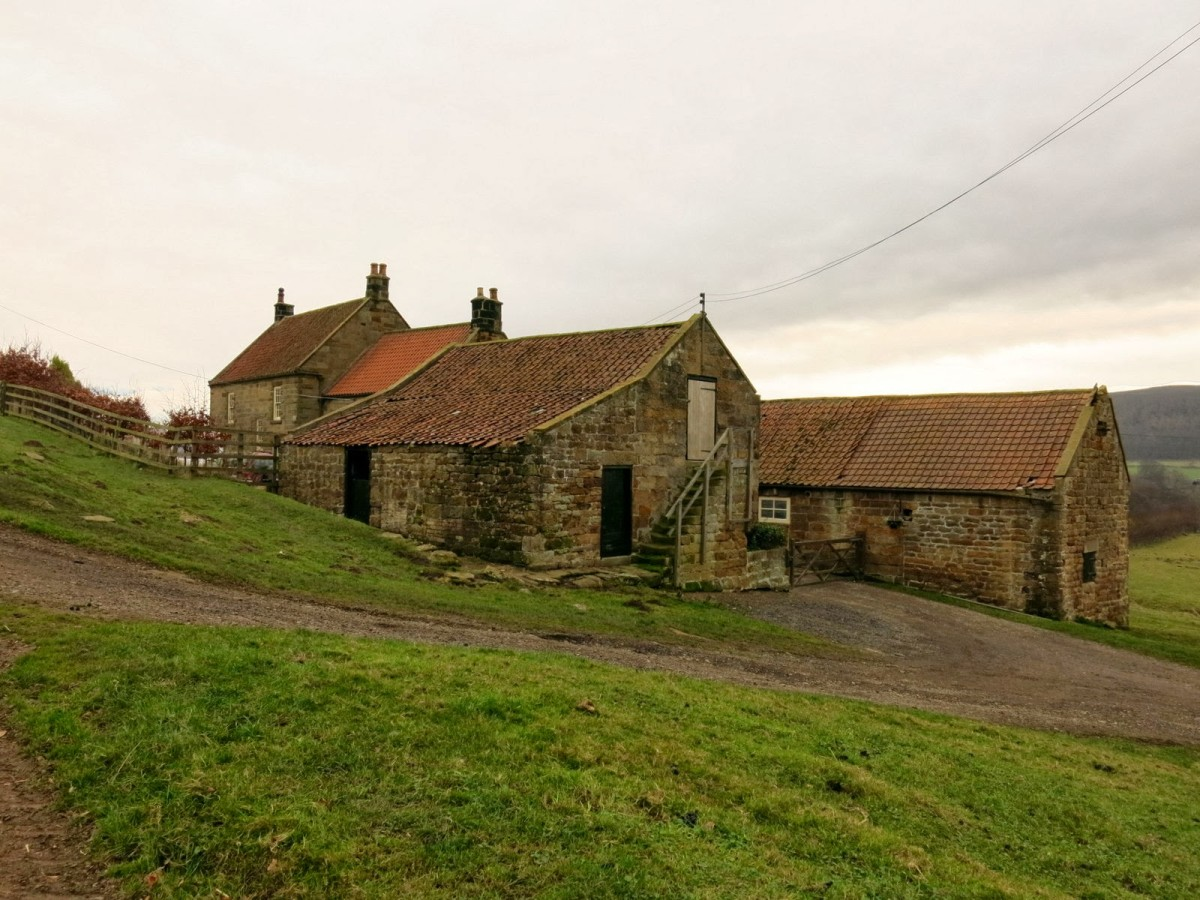 He paused, took his bearings and looked left at the old ruined farm. Raindale Head Farm.