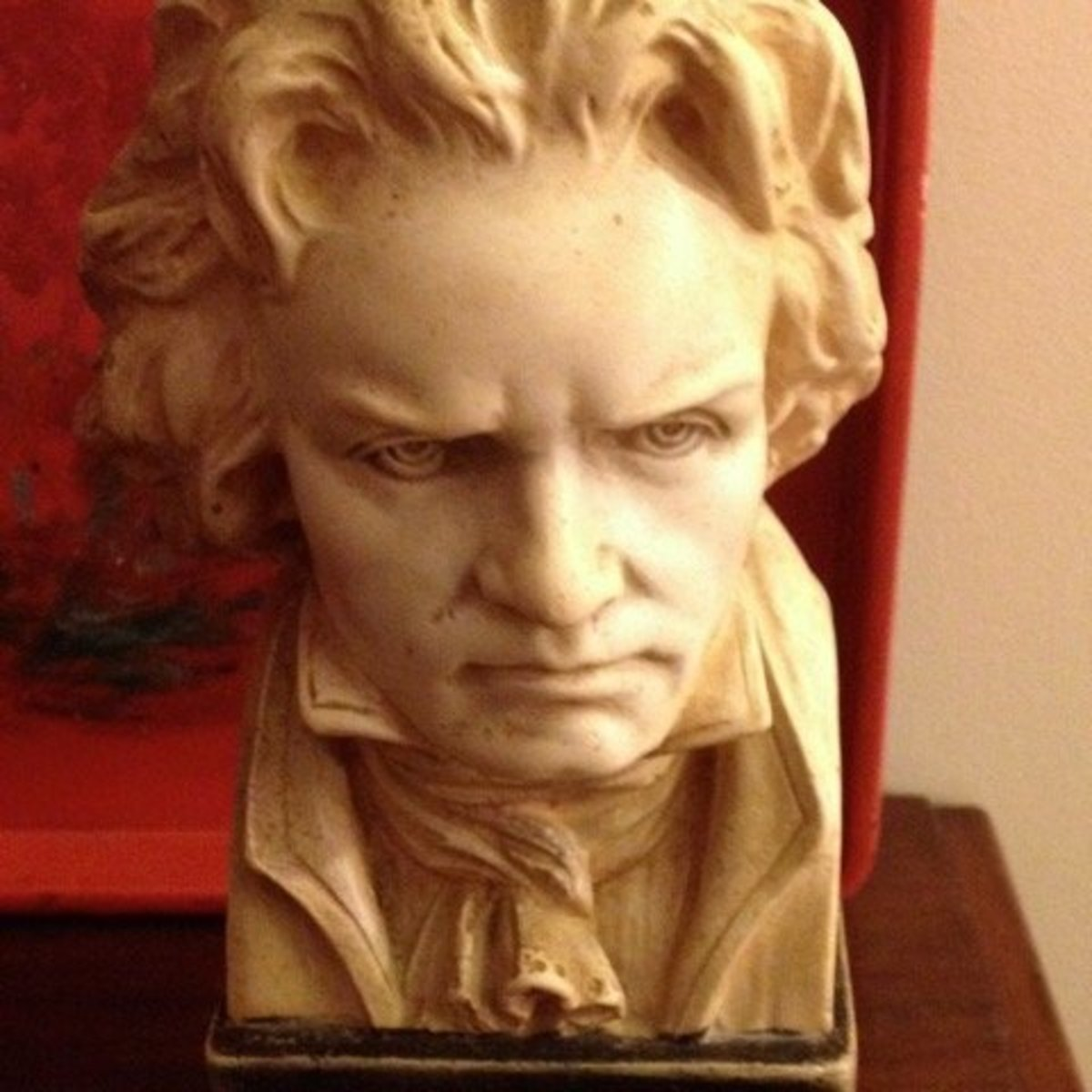 Ludwig van Beethoven(1770–1827), German composer. Despite increasing deafness, Beethoven wrote prodigiously: nine symphonies, thirty-two piano sonatas, sixteen string quartets, the opera Fidelio (1814), and the Mass in D (the Missa Solemnis, 1823).
