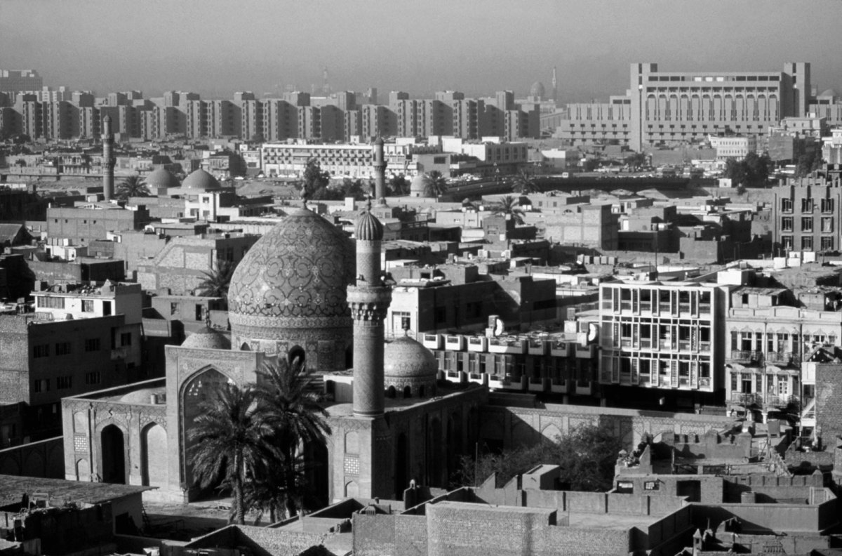 An old picture (and a Romanticized view) of the 'Jewel of the Tigris'