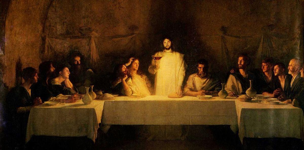 Bouveret / Last Supper / public domain