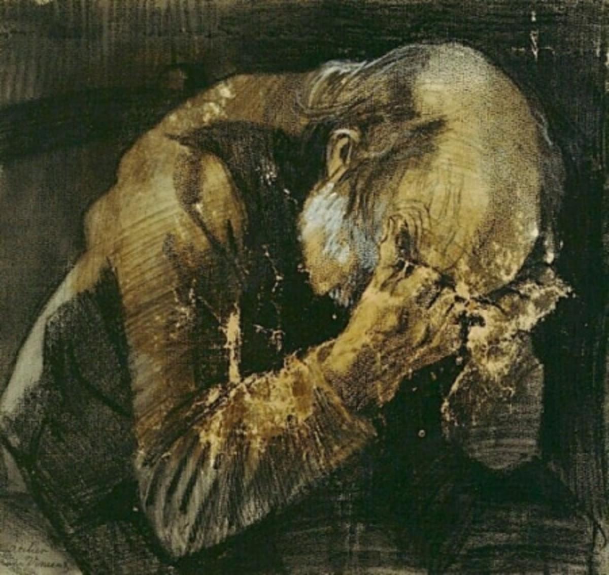 Sorrowful Old Man / Vincent van Gogh / Public domain