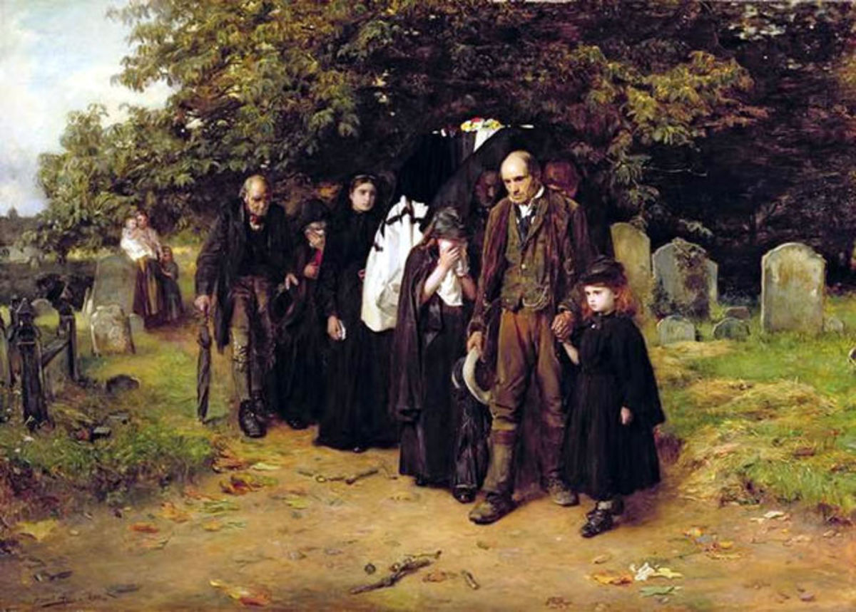 Frank Holl - I am the Resurrection and the Life