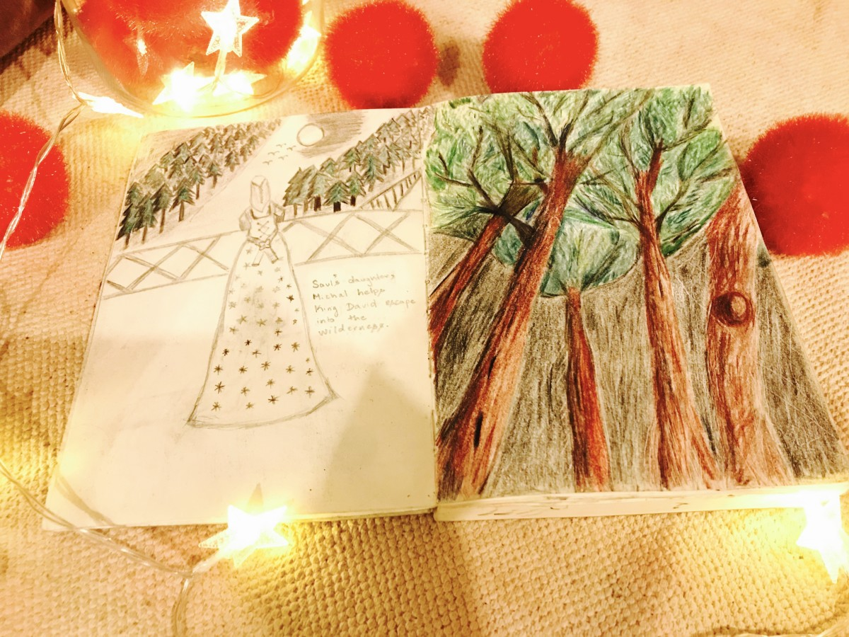 my sketchbook