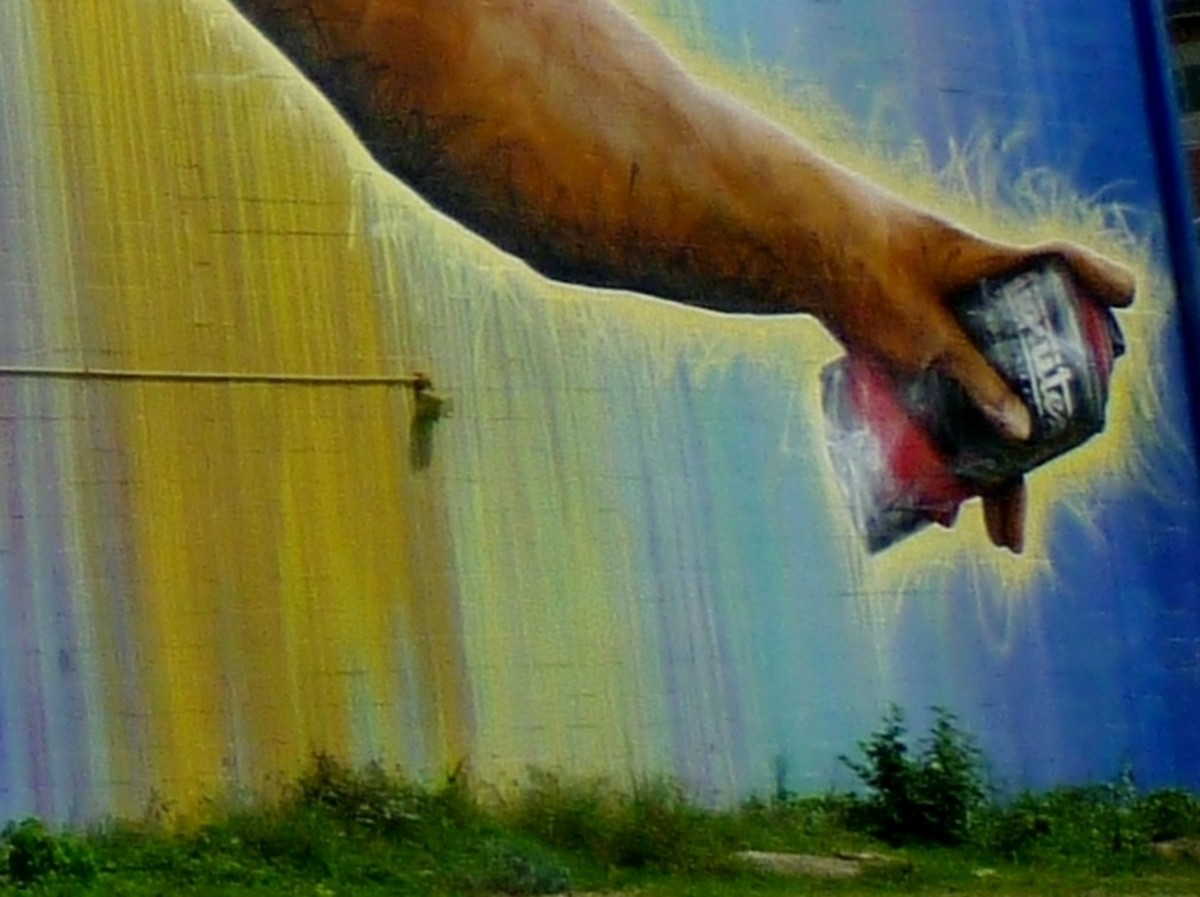 Detail portion of Preservons la Creation