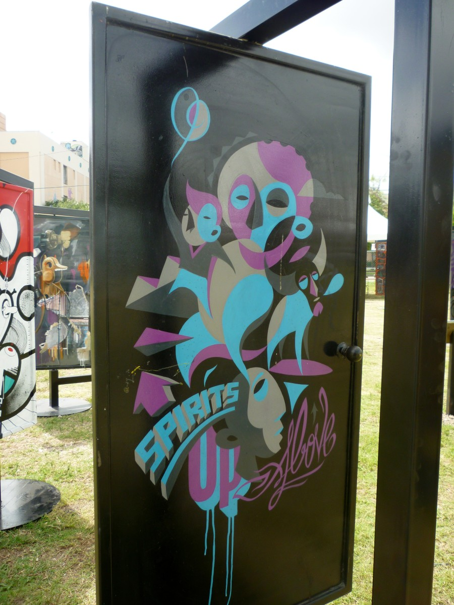 Door Art by Clement Laurentin