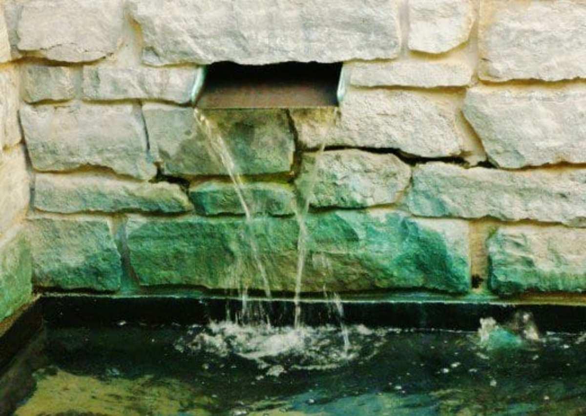 Byzantine Fresco Chapel Museum Water Elements