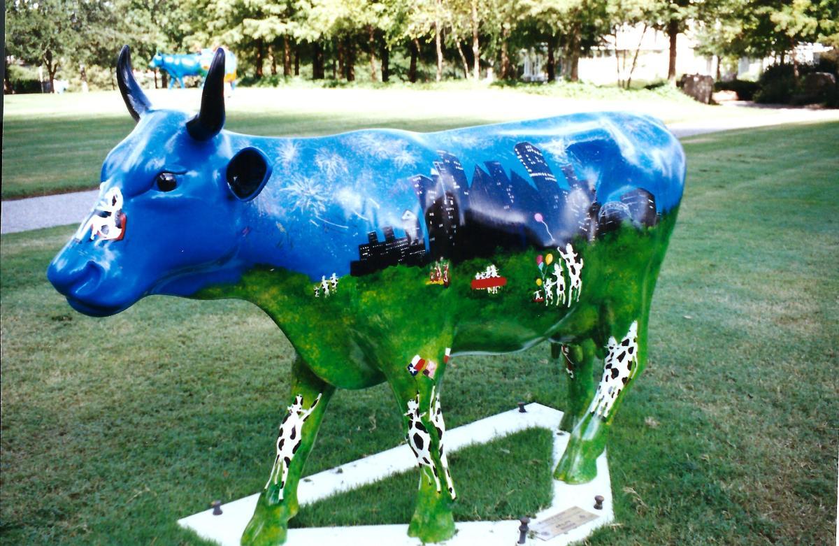 Cow Town by McNamara Elementary