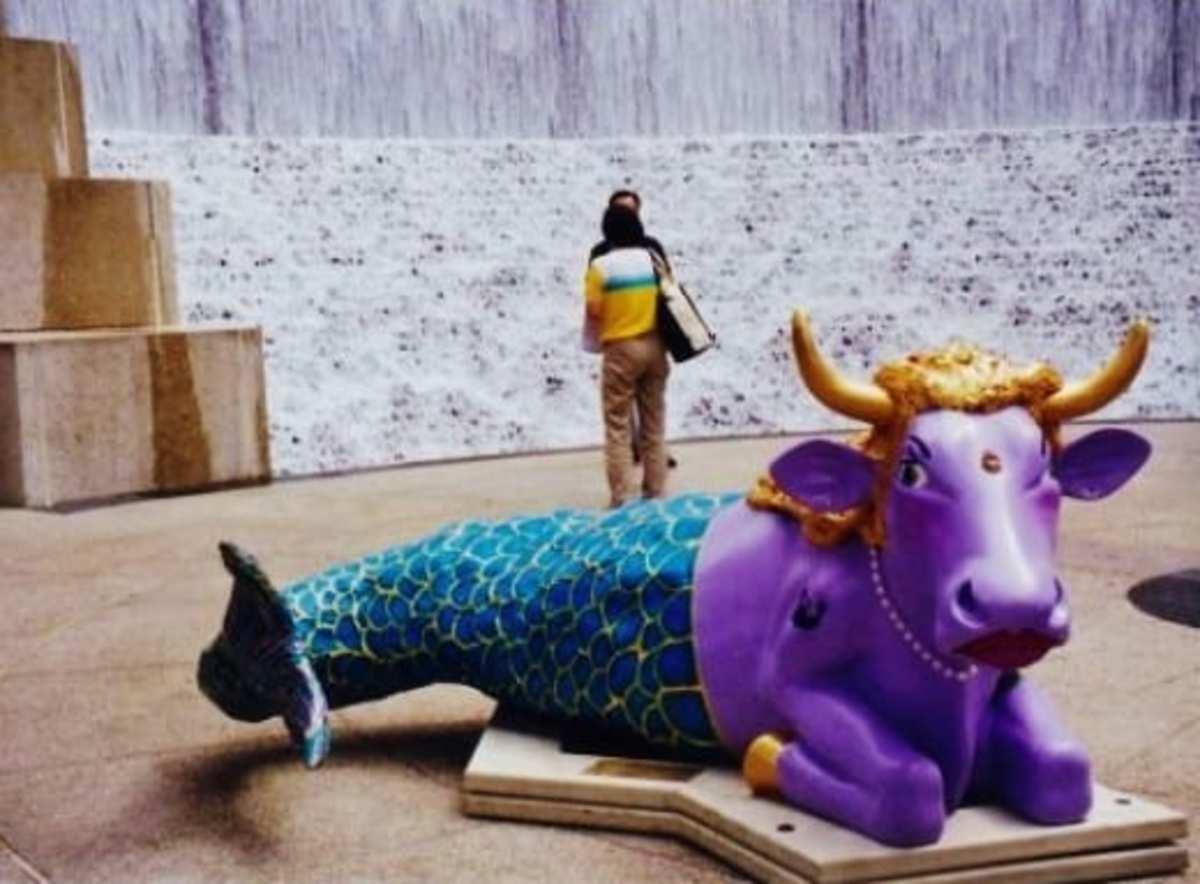 Mooisha The Moomaid by Shelley Busche at Water Wall Park