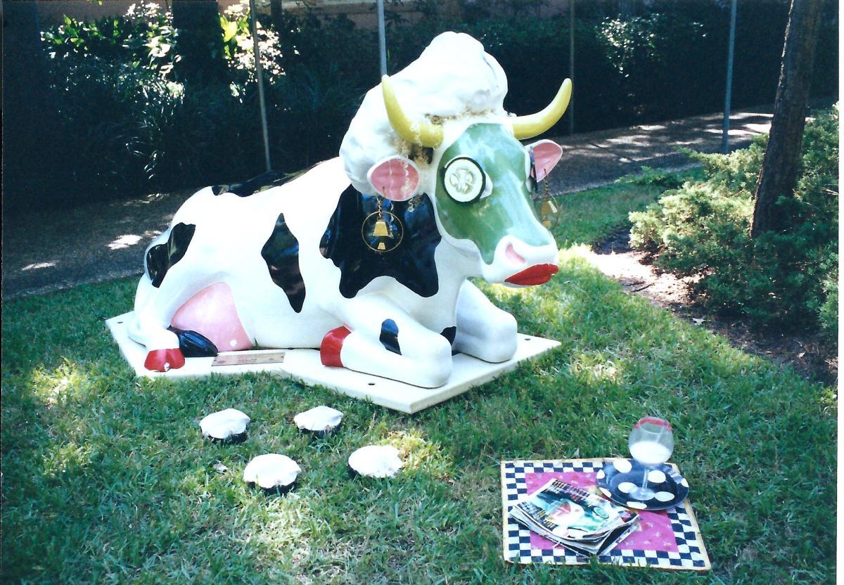 Miss Cowsmoopolitan the Divine Bovine
