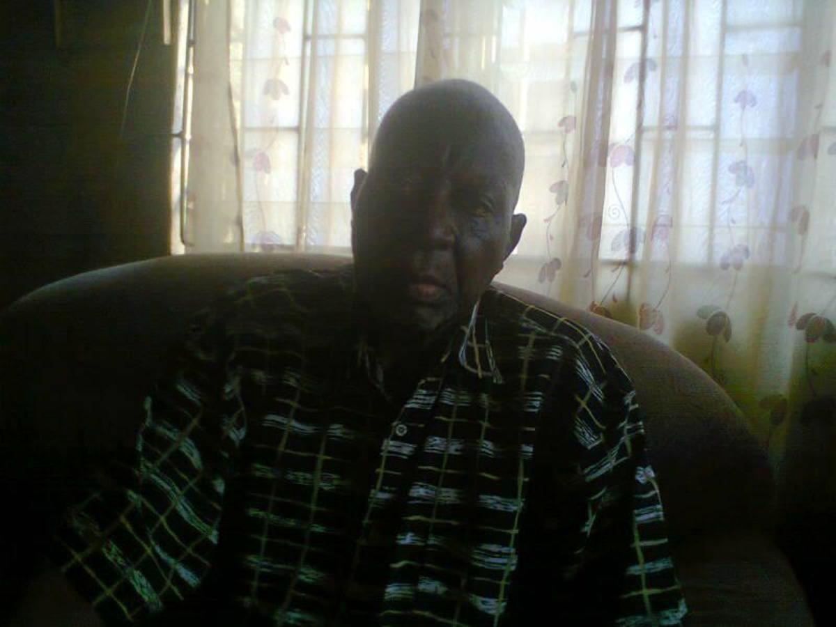 Pastor Adegunle of Blessed Memory