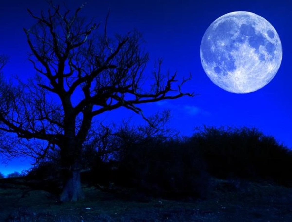 There is a legend regarding when it is not only a full but a blue moon as well!
