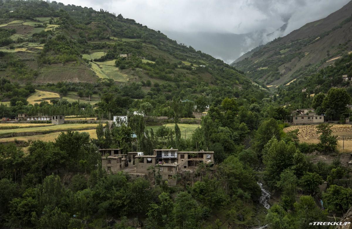 Rolling Hills of Shughnon, Afghanistan.