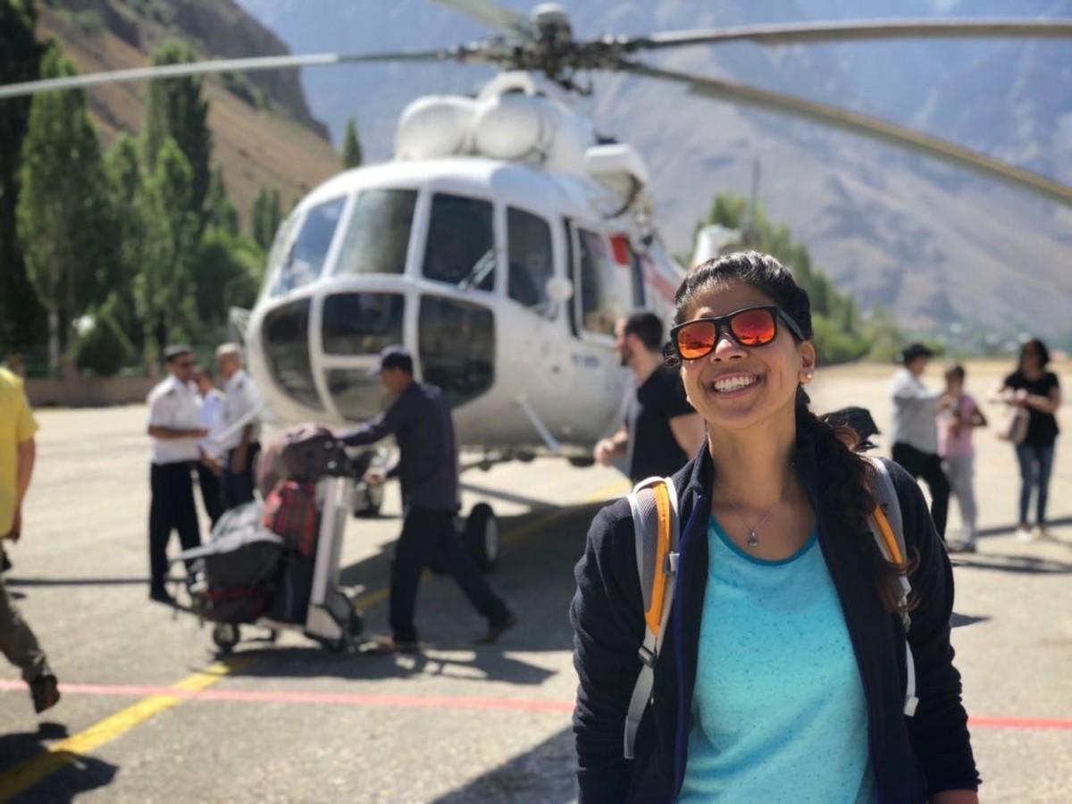 Khorog Airport, Tajikistan