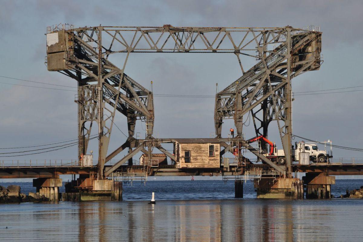 Railroad Bridge at Chambers Bay