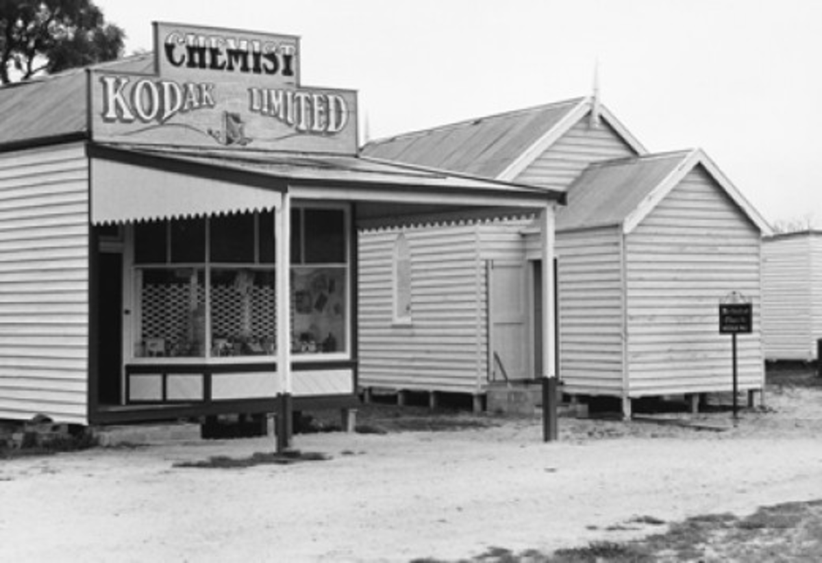 re 1.4 Jeparit. Wimmera–Mallee Pioneers Museum, 1973 Photograph courtesy of the State Library of Victoria. John T. Collins, photographer.