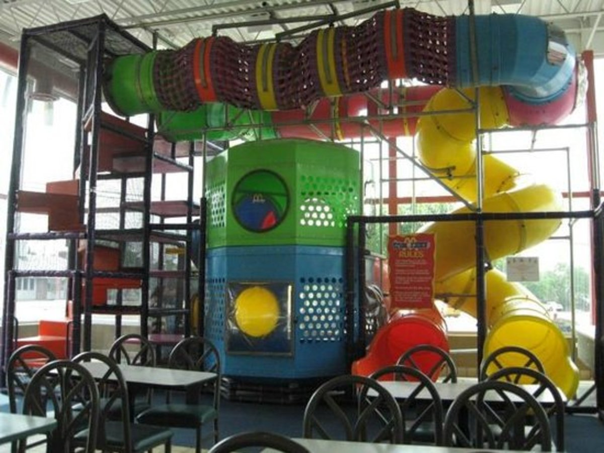 The play area was similar to this and just as empty.