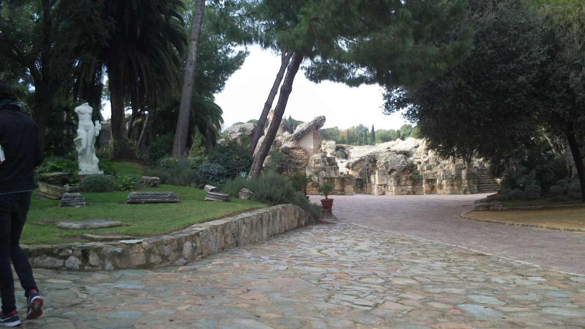 Entrance of Italica.