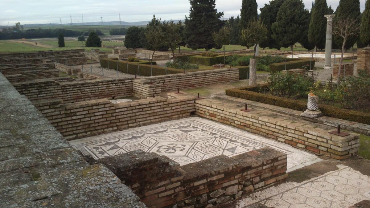 The ruins of Italica.