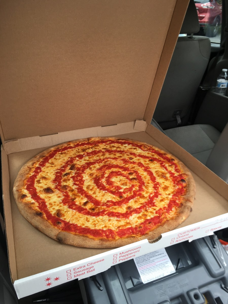 Good pizza to go