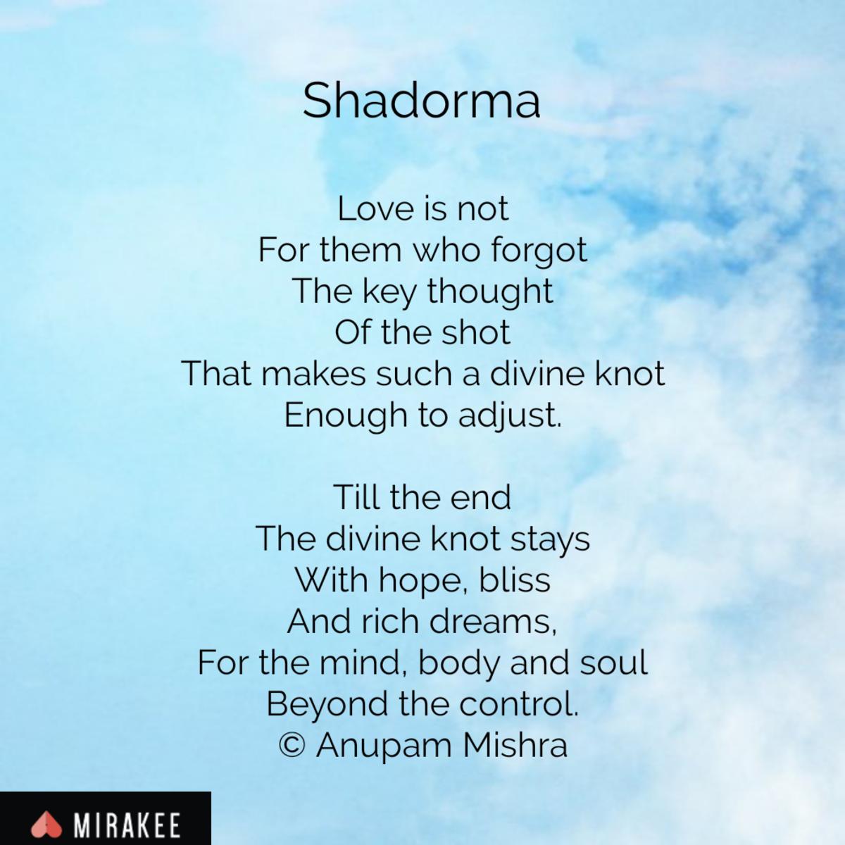 Shadorma
