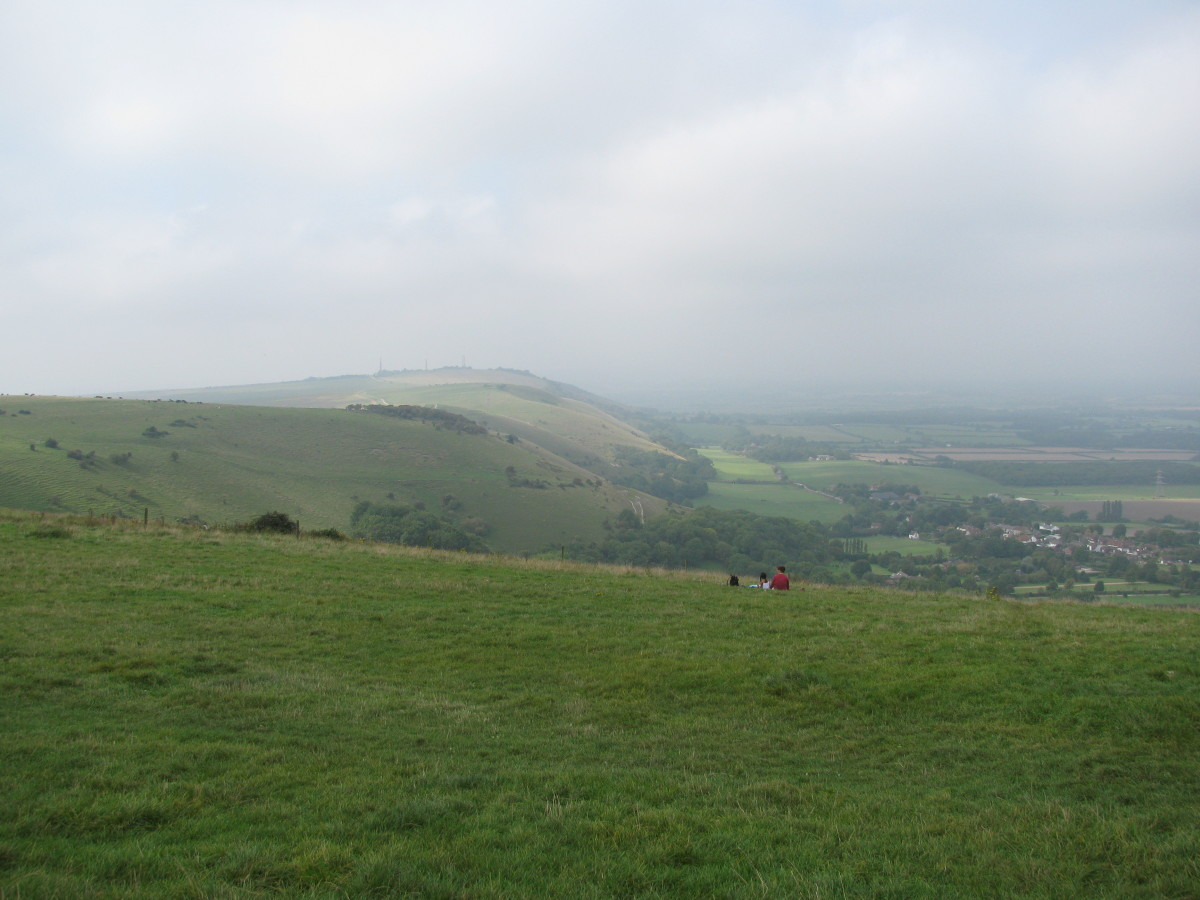 Round and down to the village of Fulking