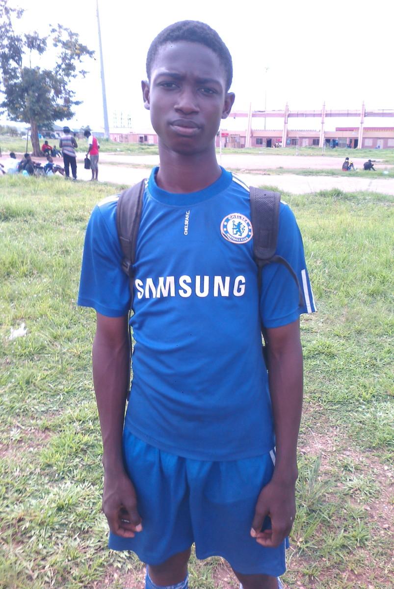 Stephen Edward, Under twelve Player at the Local team