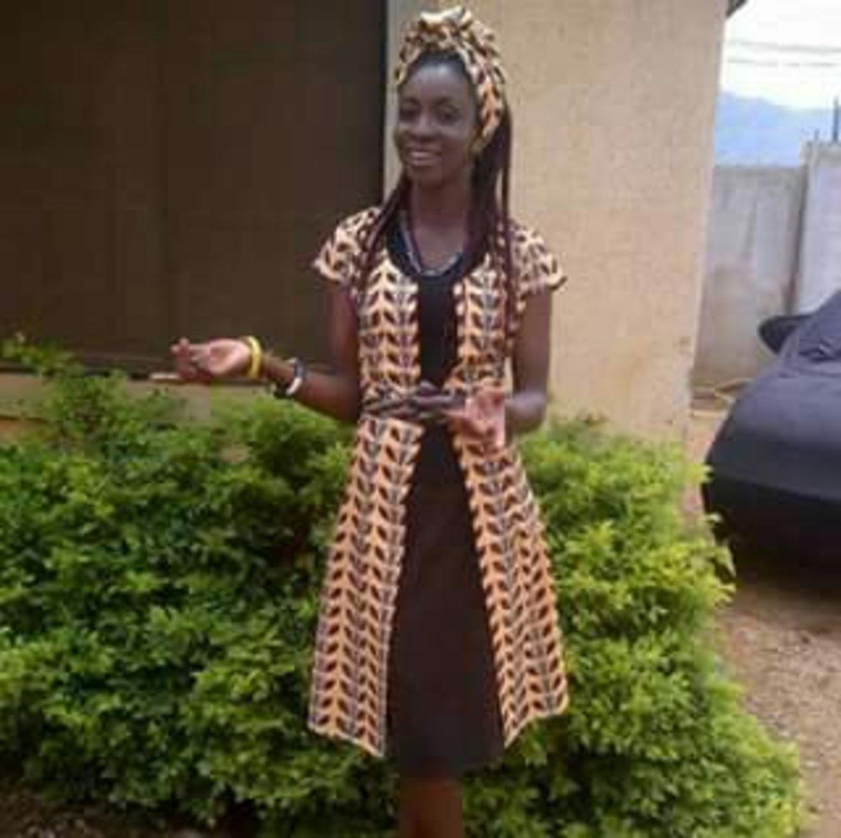 Miss Ogundare Tola, the dreamer
