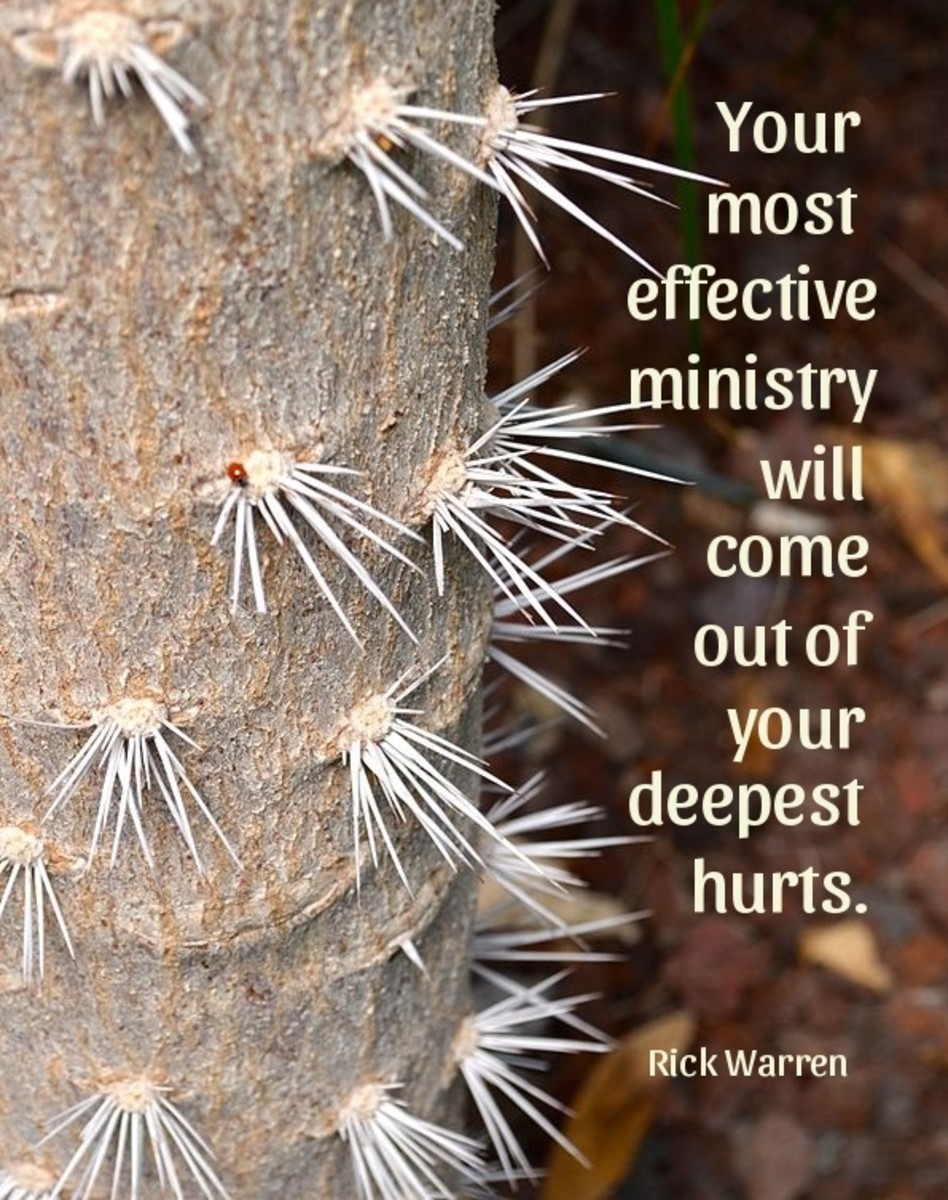 Your most effective ministry will come out of your deepest hurts.