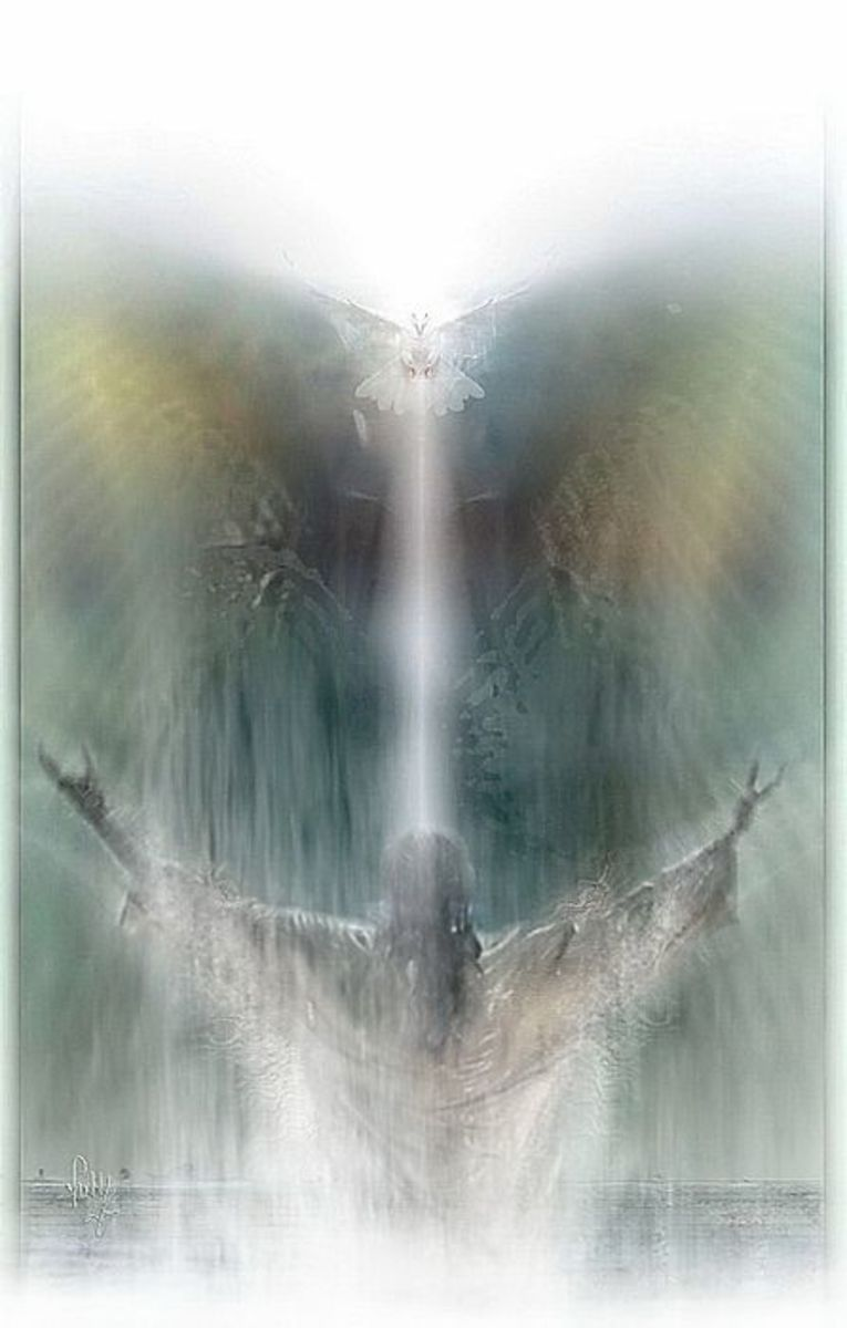 The Holy Spirit will guide you.