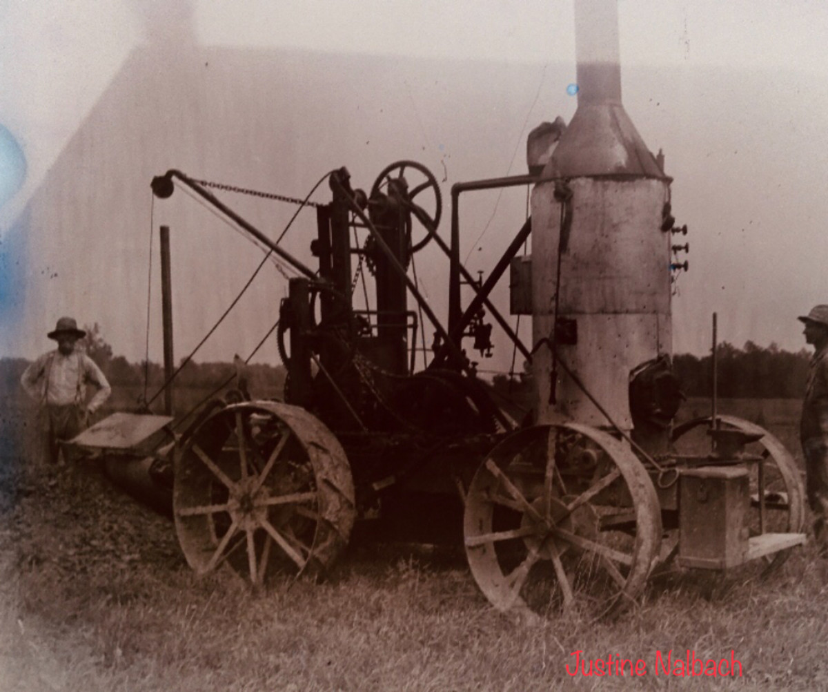 The Vollmars  possible Wood Fired Farm Equipment  c.1899