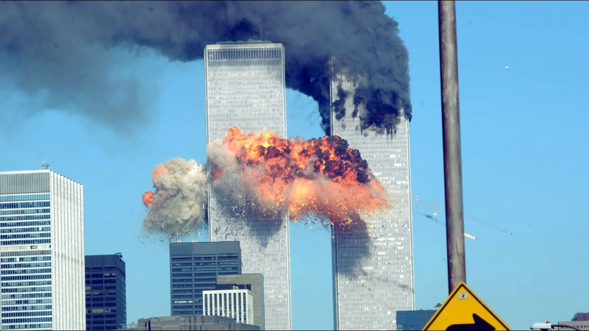 Fig. 2. The 9/11 attack on the twin towers of WTC