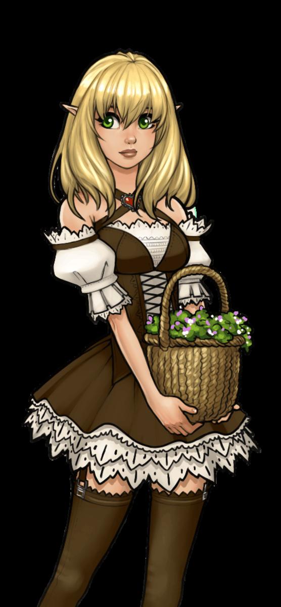 Elf Girl - Elena