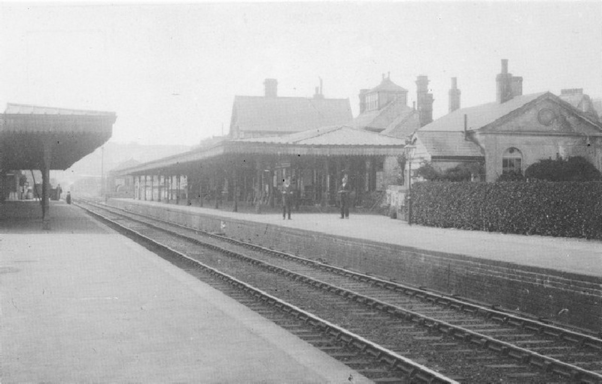 Victorian Hassocks Station (pulled down for a modern building - I cried)