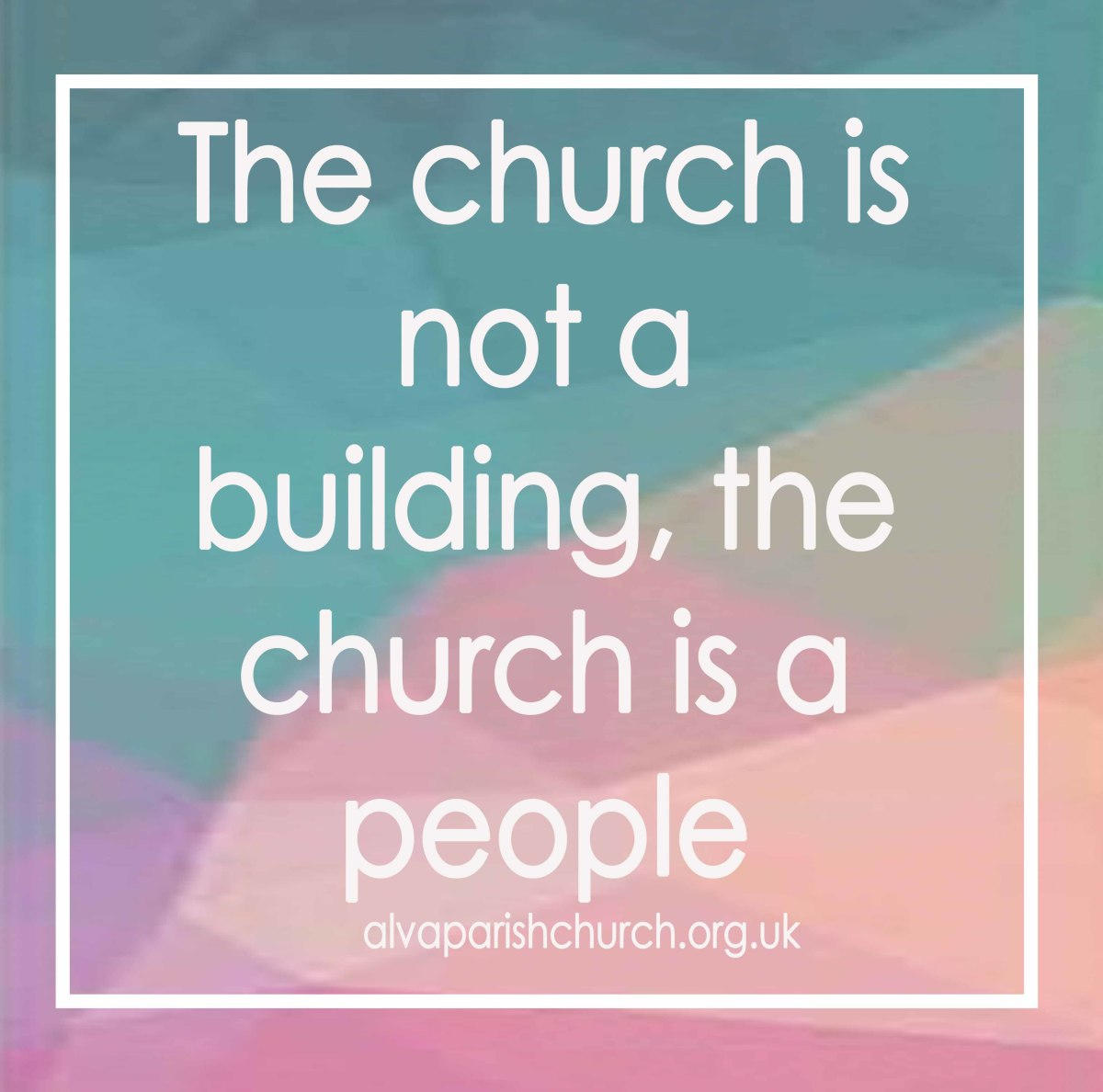 The church is within you