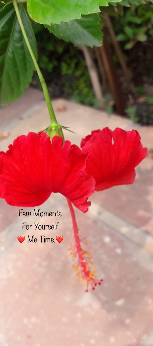 Me Time (Poem)—Few Moments For Yourself