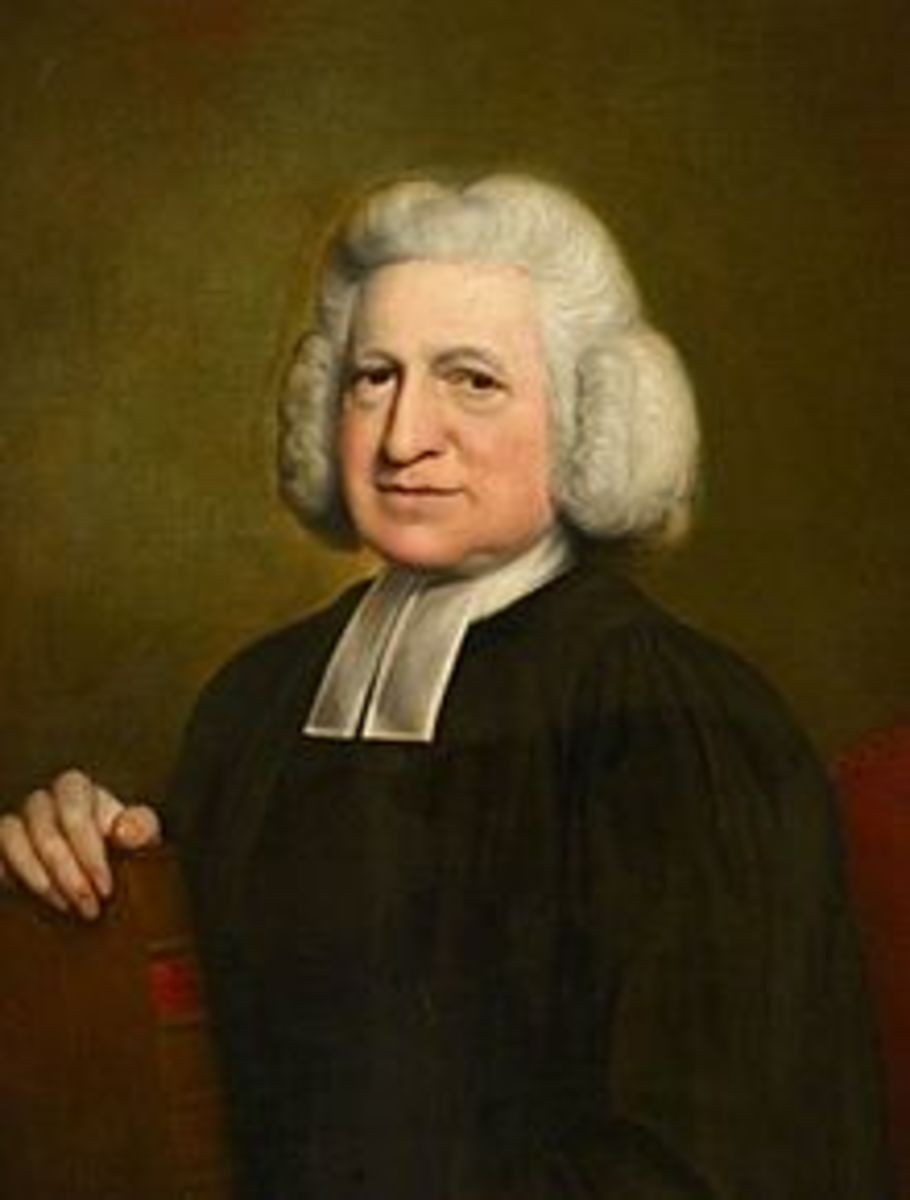 A Portrait of Charles Wesley