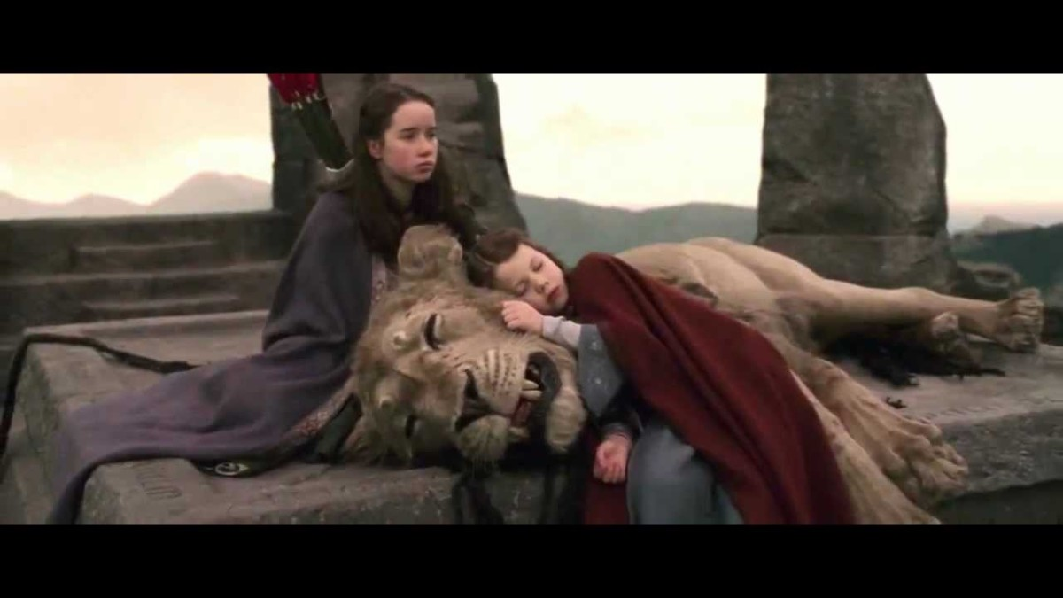 Susan and Lucy after Aslan died.