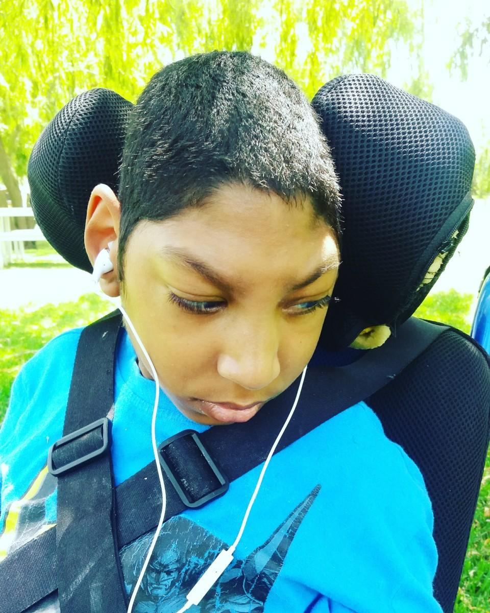 Jaden loved music