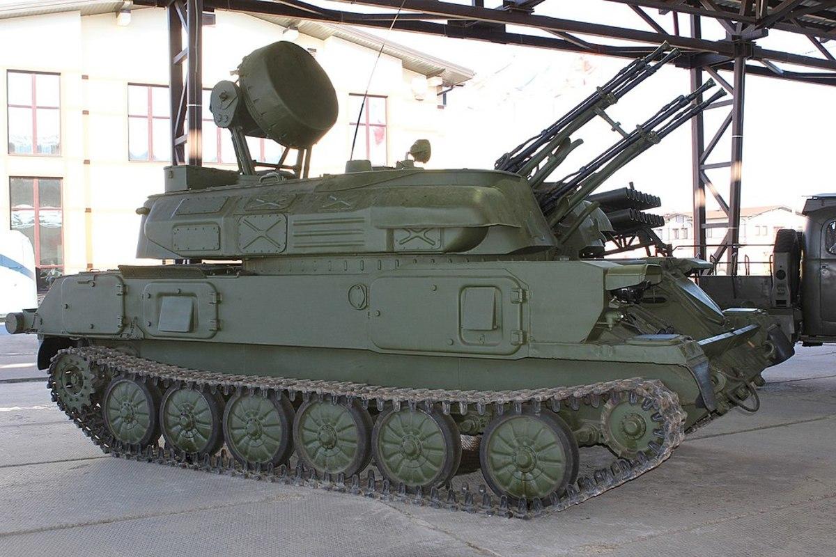 A deadly anti aircraft gun than can also put down a murderous amount of fire.